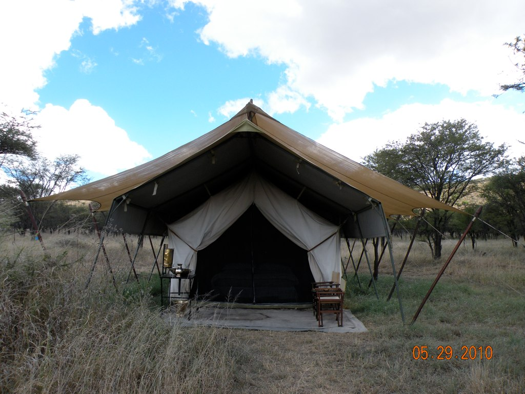 Full view of &Beyond Tent