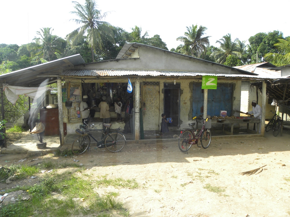 A little store on side of the road