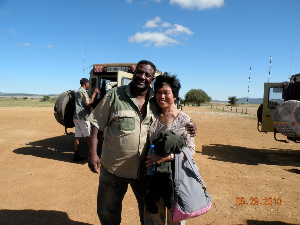 Fabian and Mama Tembo