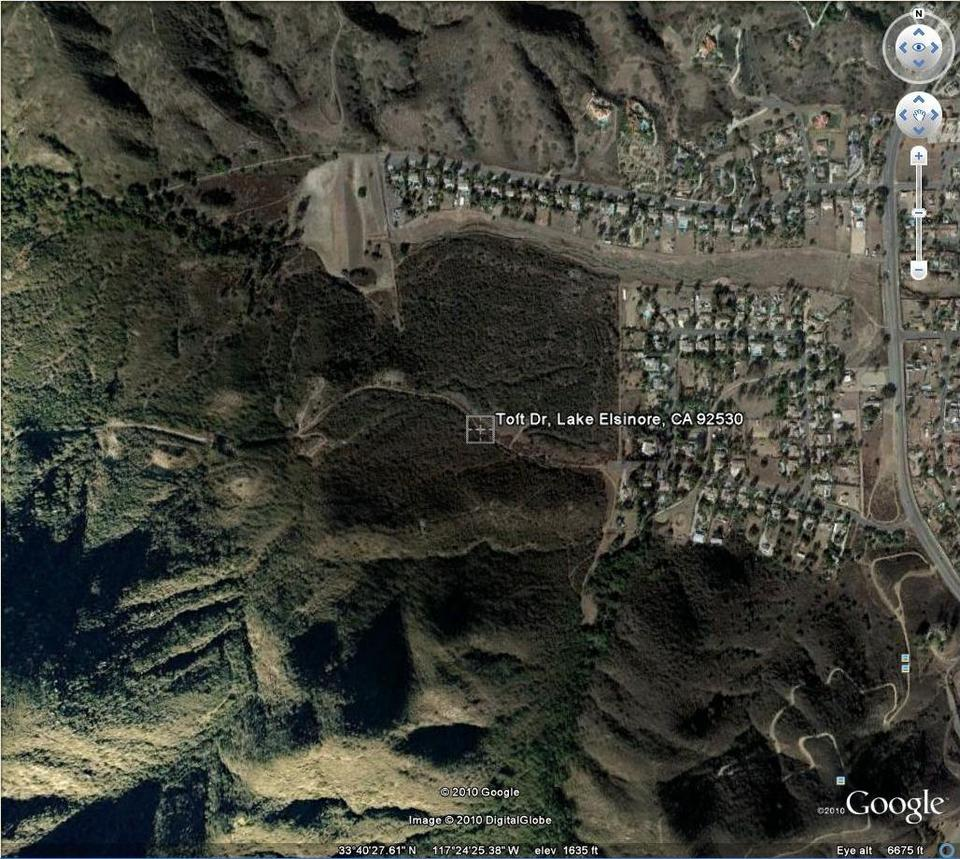 Lake Elsinore closeup