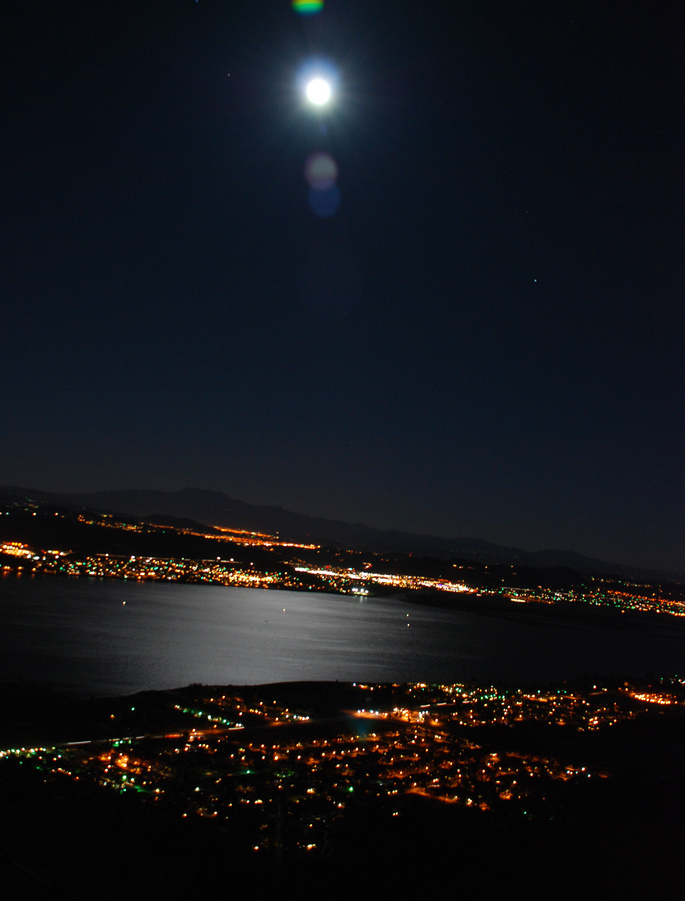 Lake Elsinore moon