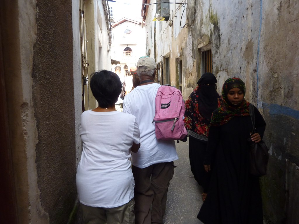 Some really narrow streets in Stone Town